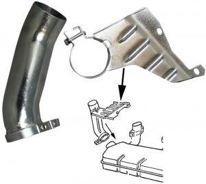 Heat Exchanger Elbow - Left - Type 4 Engines