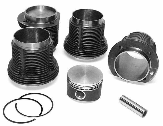 **NCA** 1200cc Barrel And Piston Kit - 77mm Bore Type 1 Engines - For 87mm Bore Case - Top Quality