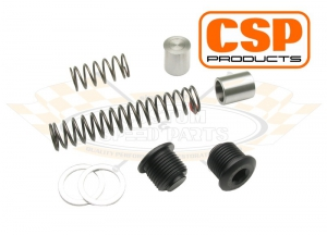 Dual Relief Oil Pressure Spring And Piston Kit - With Oil Pressure Relief Valve Screws