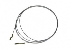 Accelerator Cable - LHD - 1971-79 - T1, KG - 2654mmm