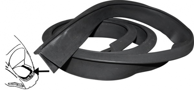 Top Quality Engine Seal - 1950-65 - T1,KG + T2 (1950-71)