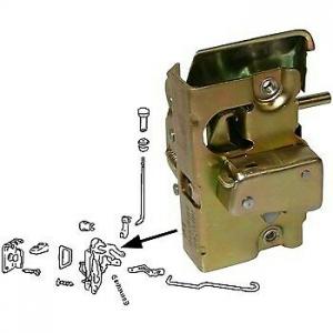**NCA** Beetle Door Lock Mechanism - 1968-79 - Right (Second Hand)