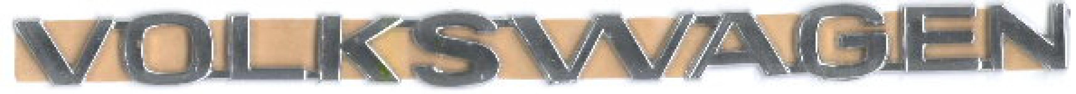 Volkswagen Modern Badge (Self Adhesive)