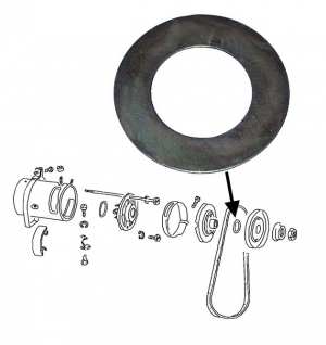 Dynamo + Alternator Pulley Shim (10 Required)