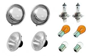 **NCA** Beetle US Spec Headlight Bundle Kit - 1950-67