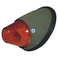 Bullet Indicator Assembly With Amber Lens Early T1 And Split Van Left