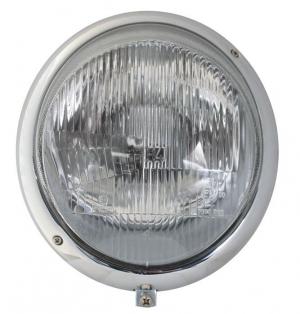 Beetle Headlight With Porsche Lens (UK Beam Pattern) - 1950-67 - Top Quality