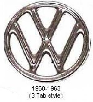 **NCA** Beetle VW Bonnet Badge - 1960-62