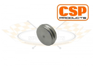 Stainless Steel Metal Camshaft Plug - For Grooved Crankcase