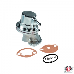 Chrome Fuel Pump - Type 1 Engines (Dynamo Models) - OE Style