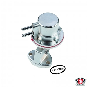 Chrome Fuel Pump - Type 1 Engines (Alternator Models) - OE Style