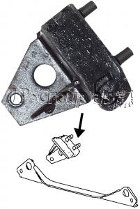 Beetle Rear Gearbox Mount - Left - 1972-79