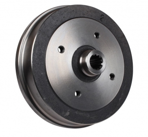 Beetle Rear Brake Drum - 1968-79 (Also Karmann Ghia) - Top Quality