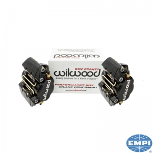 Beetle Front Wilwood Brake Caliper Set - Black