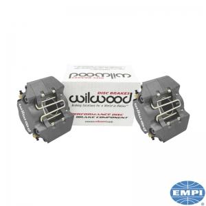 Beetle Front Wilwood Brake Caliper Set - Silver