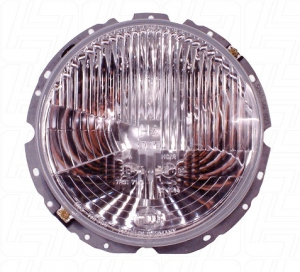 Beetle 1 Screw Headlight (UK Beam Pattern) - 1974-79 (Also Baywindow Bus) - Top Quality