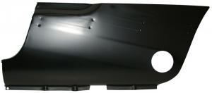 Karmann Ghia Rear Wing Front Repair Panel - Left