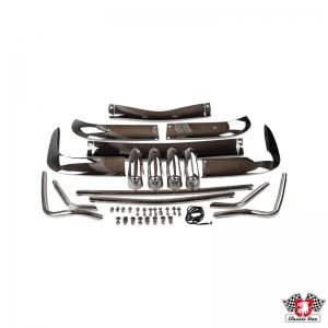 Karmann Ghia 56-66 US Spec Stainless Steel Bumper Set