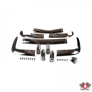 Karmann Ghia 67-69 Stainless Steel Bumper Set