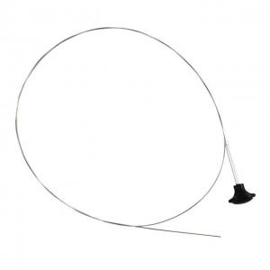 Beetle Bonnet Release Cable - Black Knob - 1950-67 (Also Karmann Ghia - 1960-67)