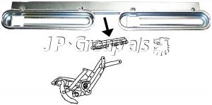 Beetle Cabriolet Window Lifter Channel - Left