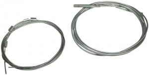Beetle Cabriolet Hood Tensioning Wire Set - 1966-79