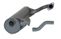 T181 Exhaust (Includes Tailpipe) - Left