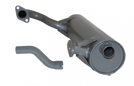 T181 Exhaust (Includes Tailpipe) - Right