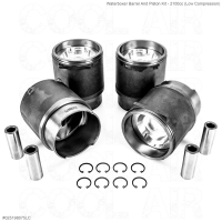 Waterboxer Barrel And Piston Kit - 2100cc (Low Compression)