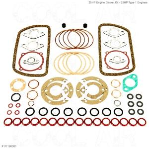 25HP Engine Gasket Kit - 25HP Type 1 Engines