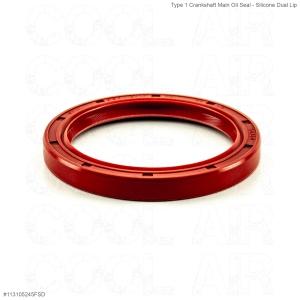 Type 1 Crankshaft Main Oil Seal - Silicone Dual Lip