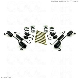 Rear Brake Shoe Fitting Kit - T2 - 1964-79