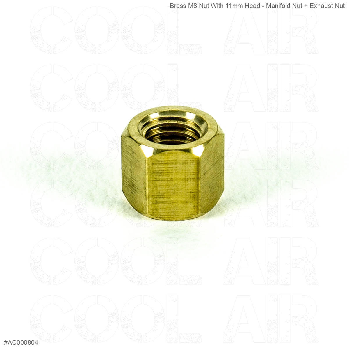 brass for manifold M8 Thread x for 11mm spanner AC000804 TYPE 3 Nut