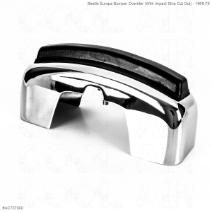 Beetle Europa Bumper Overider (With Impact Strip Cut Out) - 1968-79
