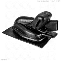 Black Handbrake Boot - T1, KG, T3 - 1965-79