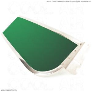 Beetle Green Exterior Perspex Sunvisor (Not 1303 Models)