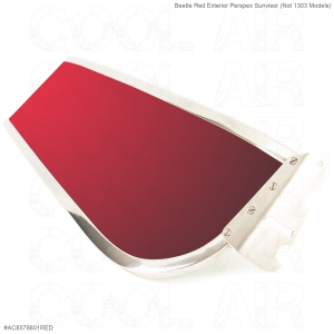 Beetle Red Exterior Perspex Sunvisor (Not 1303 Models)