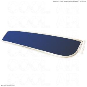 Karmann Ghia Blue Exterior Perspex Sunvisor