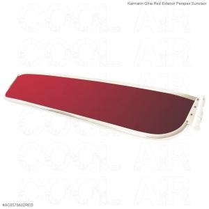 Karmann Ghia Red Exterior Perspex Sunvisor