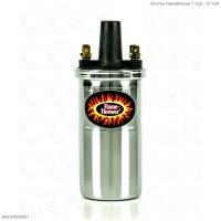Chrome Flamethrower 1 Coil - 12 Volt