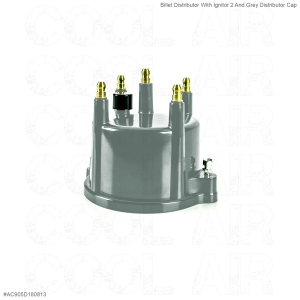 Billet Distributor With Ignitor 2 And Grey Distributor Cap