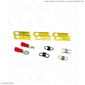 Billet Distributor With Ignitor 3 And Black Distributor Cap