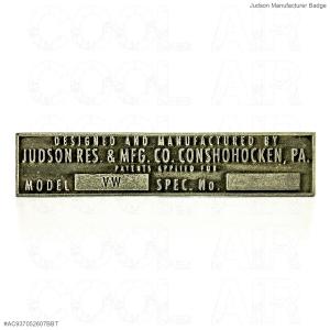 Judson Manufacturer Badge