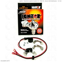 Ignitor 1 Electronic Ignition System For 1969-79 + Bosch 009 Distributors - 12 Volt