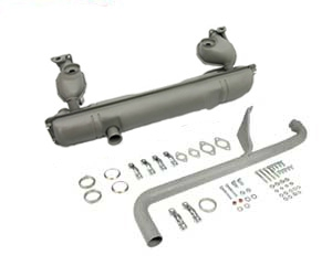 Baywindow Bus Exhaust Kit - 1976-79 - Type 1 Engines (Can Be Used On Earlier Models)