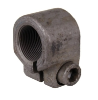 Baywindow Bus Front Stub Axle Nut - Left