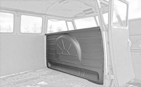 Splitscreen Bus Complete Bulkhead - 1963-67