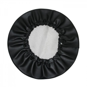 Vinyl Spare Wheel Cover - Black