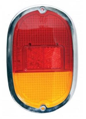 Splitscreen Bus Tail Light Assembly 1962-67 (Also Baywindow Bus Tail Light Assembly - 1968-71)