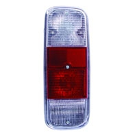 Baywindow Bus Clear, Red, Clear Tail Light Lens - 1972-79
